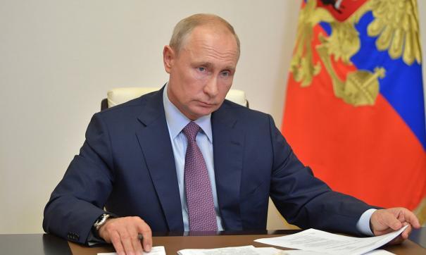 Владимир Путин присудил госнаграду свердловскому железнодорожнику