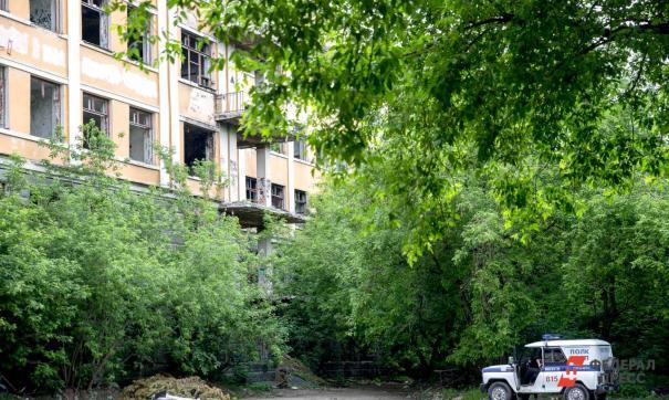 В Екатеринбурге готов проект реставрации заброшенной больницы в Зеленой Роще