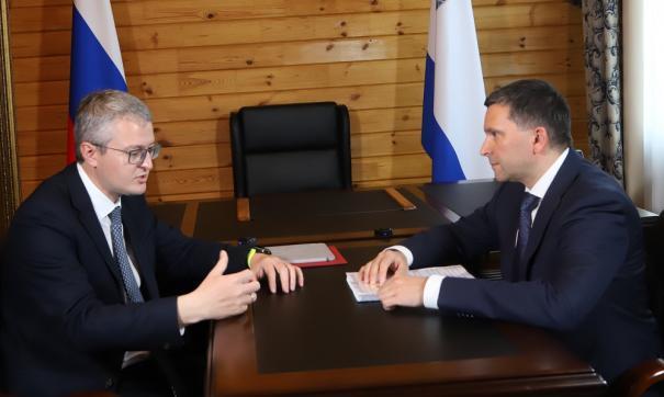 Солодов назвал министру природы РФ главный приоритет развития Камчатки