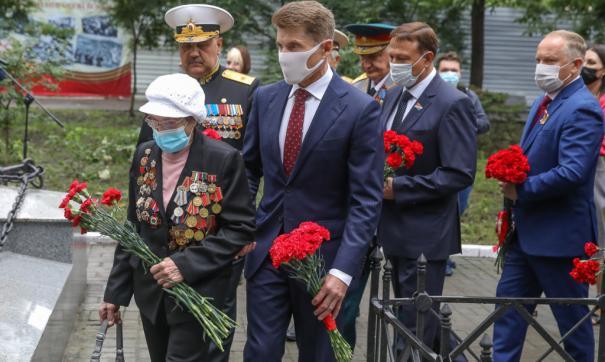 В Приморье прошли мероприятия в честь Дня окончания Второй мировой