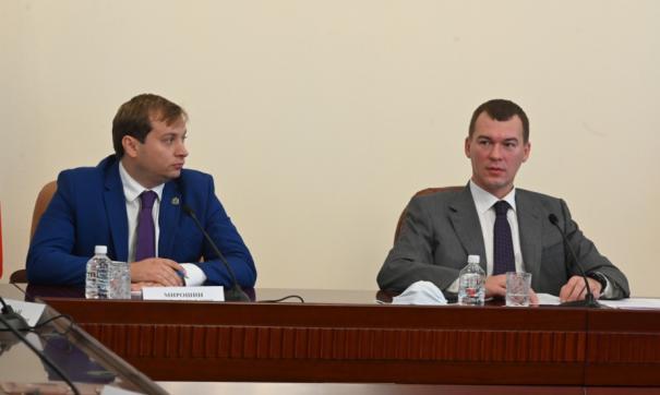 Бывший сотрудник «Газпрома» стал главой хабаровского минтранса