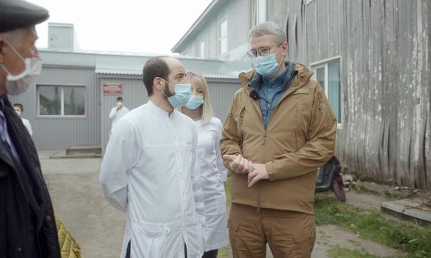 В Усть-Большерецком районе Камчатского края произошла крупная вспышка коронавируса