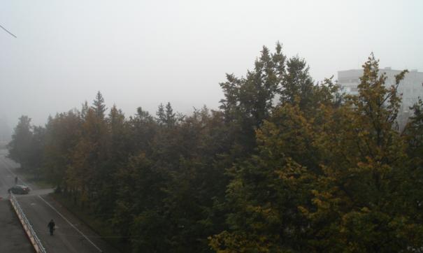 Туман окутал Кемерово