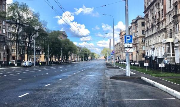 Проспект Металлургов в Новокузнецке еще не приняли у подрядчика