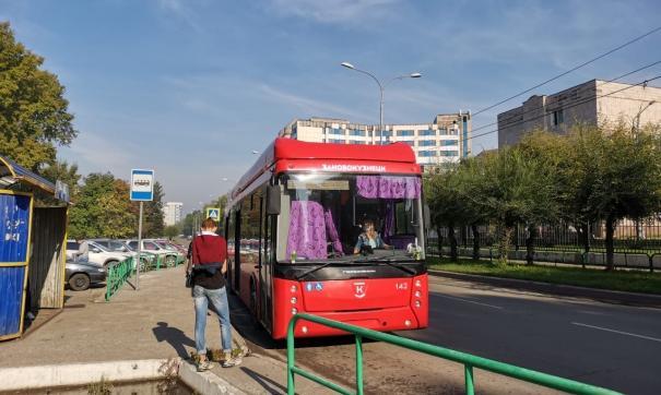 В Новокузнецке запустили троллейбусы с подзарядкой в движении