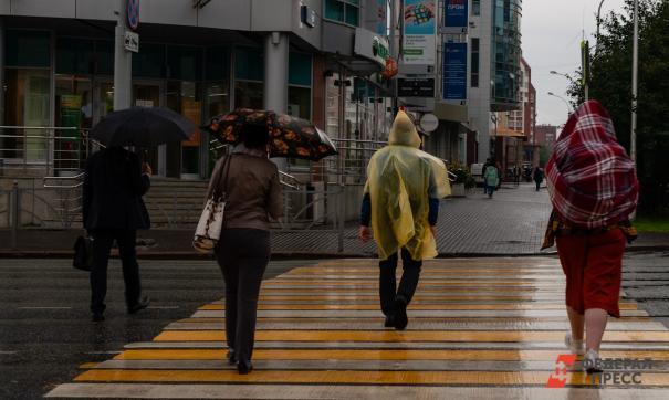 В Томской области возможный сильные дожди и шквалистый ветер