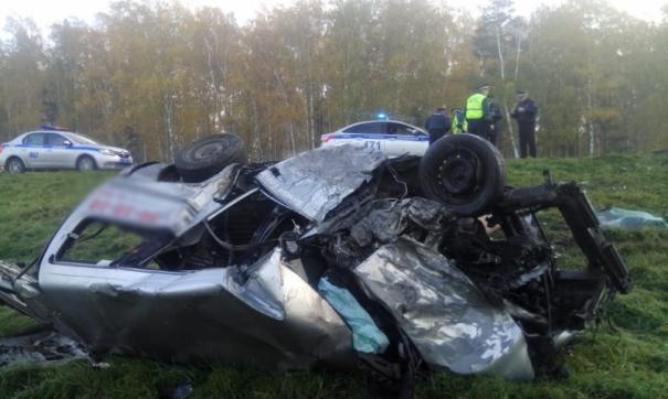 В Томской области при ДТП погибли два человека
