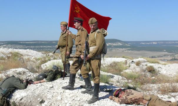 Василий Жуков 76 лет назад первым ворвался на Сапун-гору