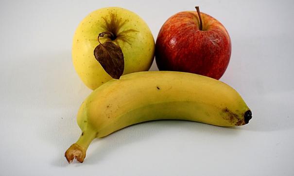 Названы регионы с самыми высокими и низкими ценами на яблоки и бананы