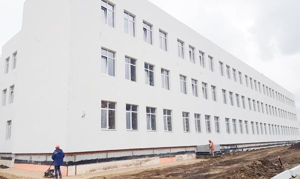 В регионе активно строят школы и детсады