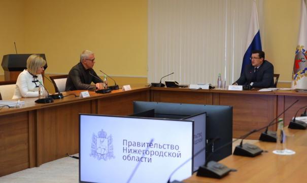 Глеб Никитин и Вячеслав Фетисов обсудили вопросы экологии