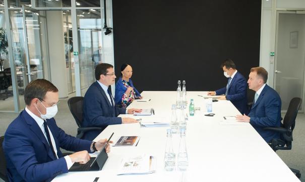 Глеб Никитин встретился с Игорем Шуваловым в Москве