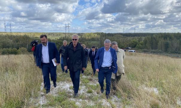 Вячеслав Фетисов посетил несколько объектов накопленного экологического ущерба в Дзержинске