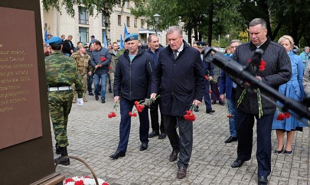 Игорь Васильев принял участие в открытии памятника Василию Маргелову