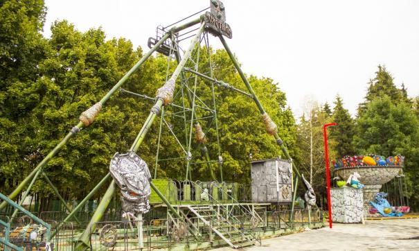 В центре липецкого парка Победы установят 10 аттракционов