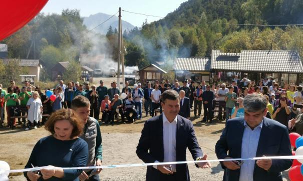 «Лидеры России» открыли Парк Побед у подножия Эльбруса