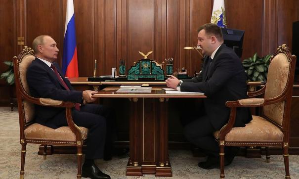 Глава Росмолодежи встретился с президентом