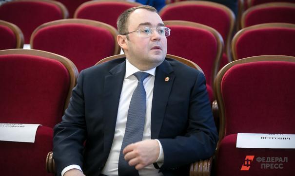 Виктор Мамин занимает должность первого вице-губернатора Челябинской области