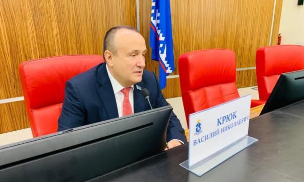 На Ямале прошло первое заседание окружного парламента седьмого созыва