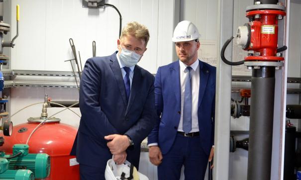 Всего на сегодня в Красноярском крае запущено уже до 120 автоматизированных котельных