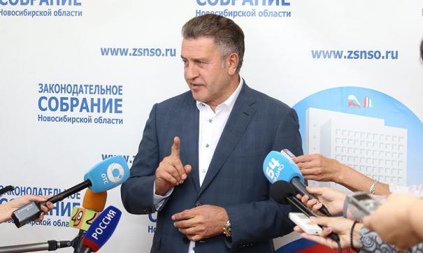 Андрей Шимкив высказал благодарность новосибирцам и жителям области, принявшим участие в голосовании