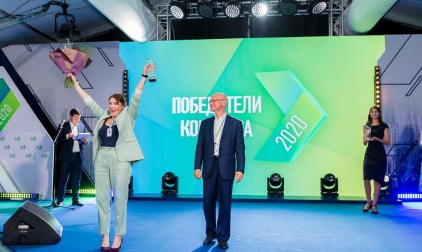 Старжинская победила в основном конкурсе, а также в специализации «Здравоохранение»