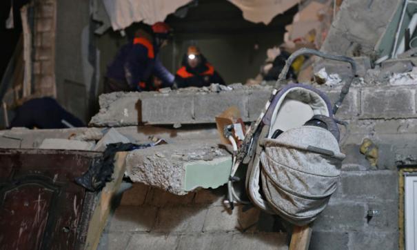В Приморье в жилом доме обрушились перекрытия