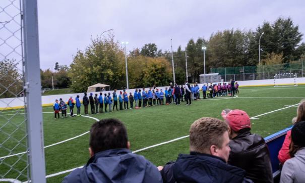 В Екатеринбурге открыли две новые спортивные площадки