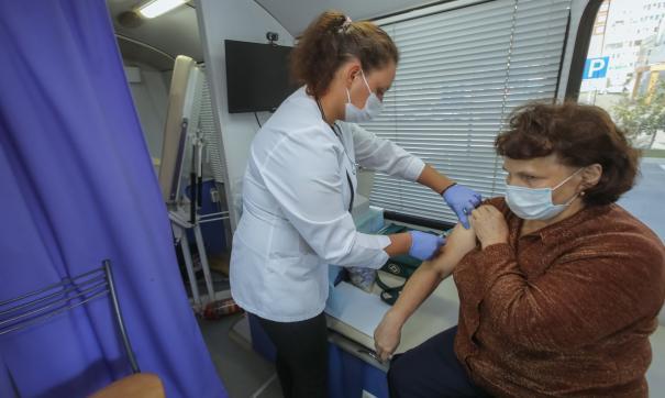 На Среднем Урале от гриппа привились почти 900 тысяч жителей