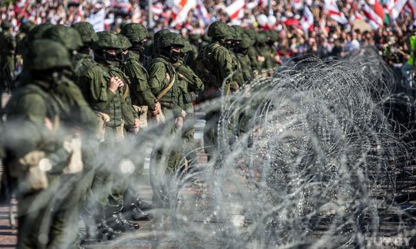 В Минске задержаны не менее 10 человек