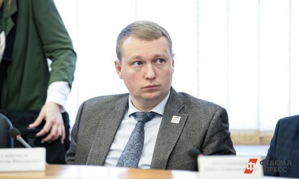 Владимир Смирнов был избран в заксобрание в прошлом году