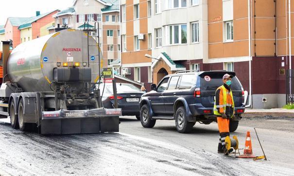 В Ханты-Мансийске выровняли дорожную инфраструктуру