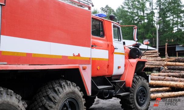 Пожар произошел в городе Сердобске на улице Калинина