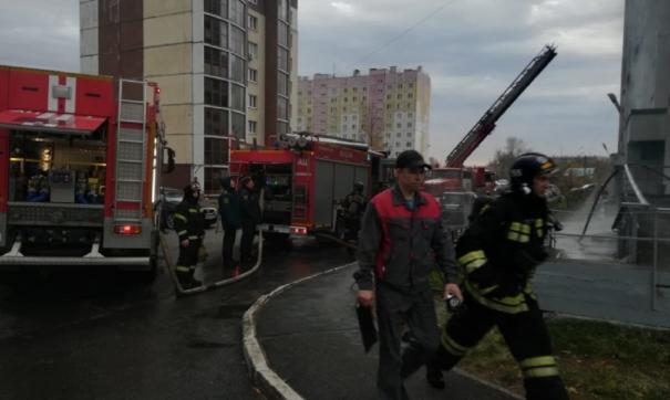 Пожарные работали по пожару повышенного номера («1 бис»)
