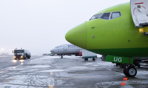 Сильный ветер нарушил планы в челябинском аэропорту