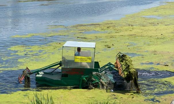 Часть работ по очистке реки Миасс были приняты министерством экологии региона