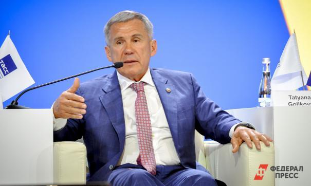 Визит президента Татарстана перенесен