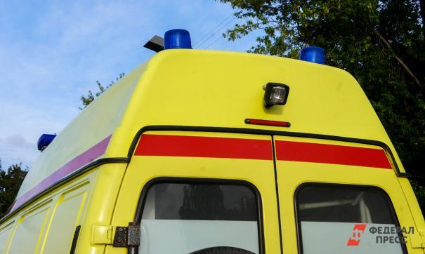 Курсант училища был доставлен в больницу с тяжелыми травмами