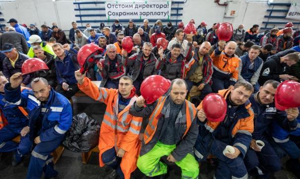 Владивостокский морской торговый порт весь октябрь сотрясают протесты.