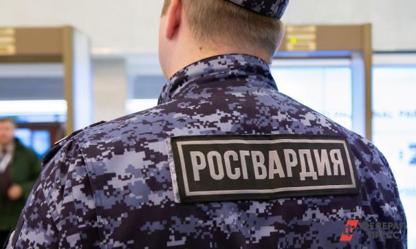 В Омске задержали трех росгвардейцев