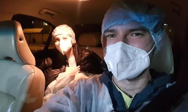 Иркутские волонтеры на личных автомобилях развозят врачей по вызовам
