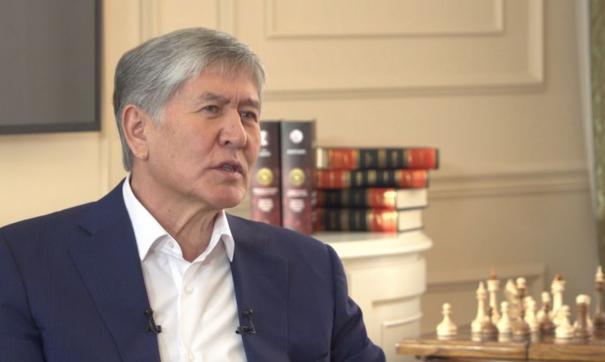 Атамбаев был задержан в своем доме