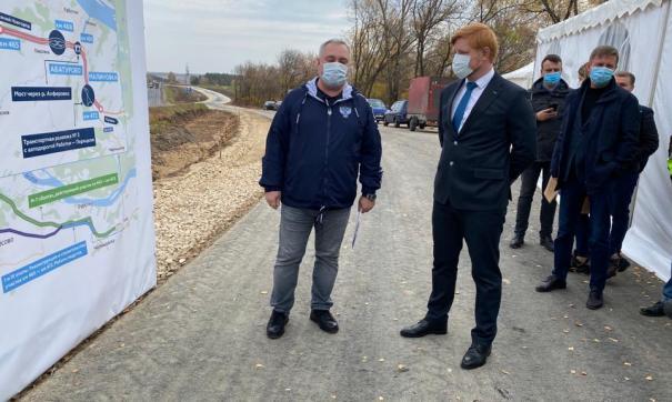 Строительство участка дороги завершится в 2024 году