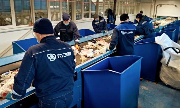 Тобольский мусоросортировочный завод обработал первые 100 тонн отходов