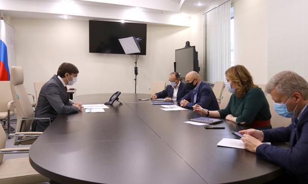 Артамонов обсудил с министром просвещения реализацию нацпроекта «Образование»