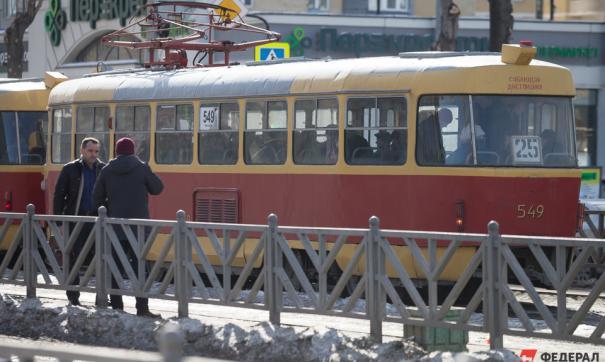 В Екатеринбурге в выходные изменят схему движения трамваев