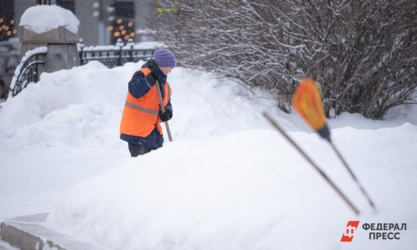 В Челябинске заработала оборудованная снегосвалка