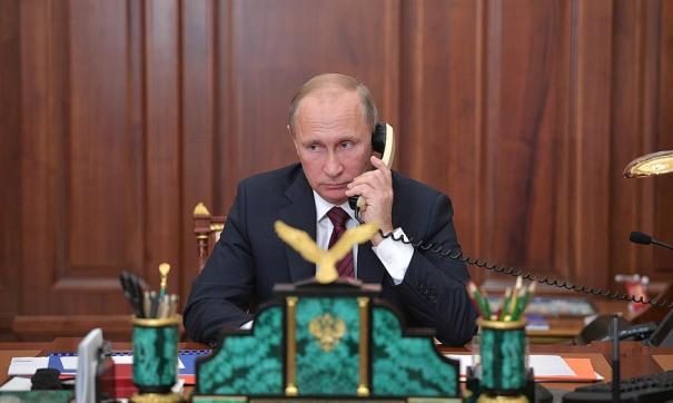Путин и Роухани обсудили вопросы двусторонних отношений
