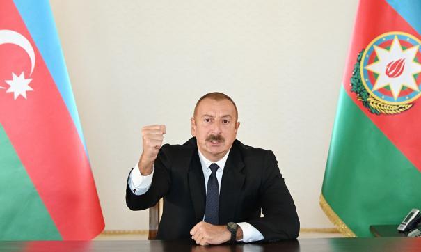 Макрон призвал Алиева прекратить огонь