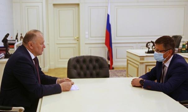 Николай Цуканов обсудил предложения с Дмитрием Козловских
